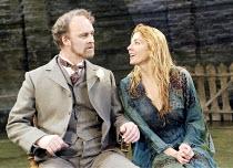 'THE LADY FROM THE SEA' (Ibsen - director: Trevor Nunn)~l-r: Tim McInnerny (Arnholm), Natasha Richardson (Ellida), ~Almeida Theatre, London N1                   15/05/2003