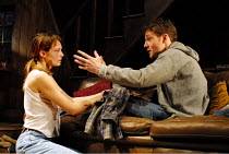 'A LIE OF THE MIND' (Shepard)~Catherine McCormack (Beth), Peter McDonald (Frankie)~Donmar Warehouse, London WC2    04/07/2001