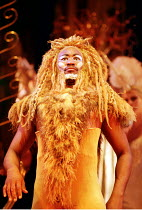 THE LION, THE WITCH AND THE WARDROBE  by C.S.Lewis  dramatised by Adrian Mitchell  design: Anthony Ward  lighting: Mark Henderson  director: Adrian Noble ~~Patrice Naiambana (Aslan)~Royal Shakespeare...