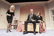 'LOSING LOUIS' (Simon Mendes da Costa - director: Robin Lefevre),l-r: Alison Steadman (Sheila), Brian Protheroe (Reggie), Lynda Bellingham (Elizabeth),Hampstead Theatre, London NW3         24/01/2005,