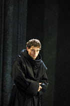 LUTHER  by John Osborne  design: Alison Chitty  lighting: Peter Mumford  director: Peter Gill ~Rufus Sewell (Martin Luther)~Olivier Theatre/Royal National Theatre, London SE1                  05/10/20...
