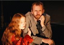 'THE CENSOR' / A35 Alison Newman (The Wife), Alastair Galbraith (The Censor) Royal Court / Duke of York's, London WC2  05/06/1997