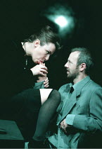 'THE CENSOR' / (2) / A19 Jan Pearson (Miss Fontaine), Alastair Galbraith (The Censor) Royal Court Theatre Upstairs / Ambassadors WC2  08/09/1997