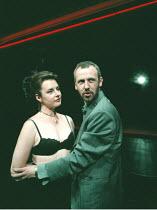'THE CENSOR' / (2) / B19 Jan Pearson (Miss Fontaine), Alastair Galbraith (The Censor) Royal Court Theatre Upstairs / Ambassadors WC2  08/09/1997