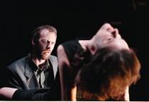 'THE CENSOR' / B29 Alastair Galbraith (The Censor), Raquel Cassidy (Miss Fontaine)  Royal Court / Duke of York's, London WC2  05/06/1997