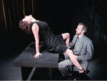 'THE CENSOR' / C21 Raquel Cassidy (Miss Fontaine), Alastair Galbraith (The Censor) Royal Court / Duke of York's, London WC2  05/06/1997