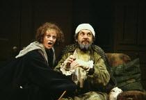 'THE HYPOCHONDRIAC' / 'Le Malade Imaginaire' (Molire)~Polly James (Toinette), Daniel Massey (Argan)~Olivier Theatre/National Theatre, London  22/10/1981