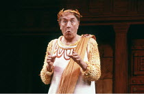'A FUNNY THING HAPPENED ON THE WAY TO THE FORUM' (Shevelove/Gelbart/Sondheim - director: Larry Gelbart)~Frankie Howerd (Pseudolus) ~Piccadilly Theatre, London W1                    14/11/1986