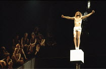 JESUS CHRIST SUPERSTAR   music: Andrew Lloyd Webber lyrics: Tim Rice set design: Brian Thomson costumes: Gabriella Falk lighting: Jules Fisher choreography: Rufus Collins director: Jim Sharman~~right:...