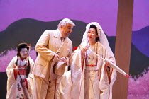 MADAMA BUTTERFLY   by Puccini   conductor: Nicola Luisotti   directors: Moshe Leiser & Patrice Caurier<br>,Alan Opie (Sharpless), Liping Zhang ( Cio-Cio-San),The Royal Opera / Covent Garden, London WC...