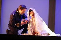 MADAMA BUTTERFLY   by Puccini   conductor: Nicola Luisotti   directors: Moshe Leiser & Patrice Caurier<br>,Andrew Richards (B.F.Pinkerton), Liping Zhang ( Cio-Cio-San) ,The Royal Opera / Covent Garden...