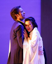MADAMA BUTTERFLY   by Puccini   conductor: Nicola Luisotti   ,directors: Moshe Leiser & Patrice Caurier<br>,Andrew Richards (B.F.Pinkerton), Liping Zhang ( Cio-Cio-San) ,The Royal Opera / Covent Garde...