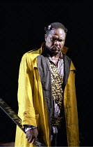 'DAS RHEINGOLD' (Wagner - director: Richard Jones)~Willard White (Wotan)~Scottish Opera     27/01/1989                     ref/D16a
