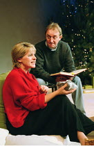 'ANCIENT LIGHTS' (Stephenson) Joanne Pearce (Bea), Dermot Crowley (Thaddeus) Hampstead Theatre, London NW3  06/12/2000