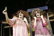 'CINDERELLA' (director: Dan Jemmett)~l-r: John Ramm (Ugly Sister), Antonio Gil Martinez (Ugly Sister)~Lyric Hammersmith, London W6           02/12/2003