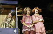 'CINDERELLA' (director: Dan Jemmett)~l-r: Geoffrey Carey (Madame Zarastro), Antonio Gil Martinez (Ugly Sister), John Ramm (Ugly Sister)~Lyric Hammersmith, London W6           02/12/2003