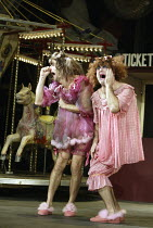 'CINDERELLA' (director: Dan Jemmett)~l-r: Antonio Gil Martinez (Ugly Sister), John Ramm (Ugly Sister)~Lyric Hammersmith, London W6           02/12/2003