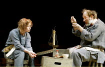 'THE FIREWORK-MAKER'S DAUGHTER' (Pullman/Russell)~Hayley Carmichael (Lila), Hannes Flaschberger (Lalchand/Razvani)~Crucible Theatre, Sheffield                       18/03/2003