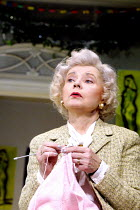 A DAY IN THE DEATH OF JOE EGG  by Peter Nichols  design: Es Devlin  lighting: Adam Silverman  director: Laurence Boswell  ~Prunella Scales (Grace)~New Ambassadors Theatre, London WC2   01/10/2001~(c)...