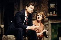 'THE DEEP BLUE SEA' (Rattigan)~David Yelland (Freddie Page), Penelope Keith (Hester Collyer)~Theatre Royal, Haymarket/London SW1          26/05/1988
