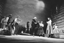 'DESIRE UNDER THE ELMS' (O'Neill - director: Lou Stein) centre (dancing): James Booth (Old Cabot)   right (in chair): Sally Dexter (Abbie) Palace Theatre, Watford / England         04/05/1994
