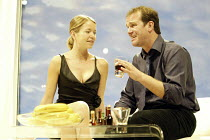 'DUMB SHOW' (Joe Penhall - director: Terry Johnson)~Anna Maxwell Martin (Liz), Douglas Hodge (Barry)~Jerwood Theatre Downstairs / Royal Court Theatre, London SW1   07/09/2004