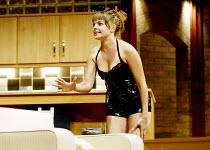 'DAMSELS IN DISTRESS' (Ayckbourn)~'GamePlan': Saskia Butler (Sorrel Saxon)~Duchess Theatre, London WC2                07/09/2002