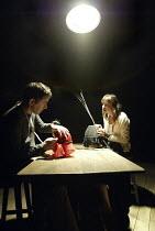 'FAR AWAY' (Caryl Churchill - director: Simon Cox)~Alan Drake (Todd), Kirsty Bushell (Joan)~Sheffield Studio (Crucible)                       02/06/2004