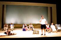 'FINDING THE SUN' (Albee)~standing: Demetri Goritas (Daniel)~Royal National Theatre/Cottesloe Theatre, London SE1  08/05/2001