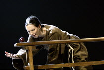 'GALILEO'S DAUGHTER' (Timberlake Wertenbaker, after Sobel   director: Peter Hall)~scientific experiment: Rebecca Hall (Maria Celeste)~Theatre Royal Bath             19/07/2004