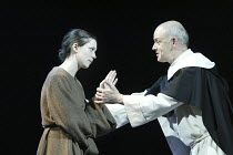 'GALILEO'S DAUGHTER' (Timberlake Wertenbaker, after Sobel   director: Peter Hall)~Rebecca Hall (Maria Celeste), William Chubb (Father Antony)~Theatre Royal Bath             19/07/2004