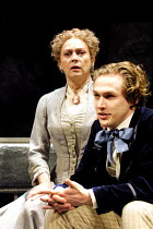 'GHOSTS' (Ibsen)~Francesca Annis (Mrs Alving), Martin Hutson (Oswald Alving)~Comedy Theatre, London SW1  02/04/2001