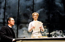 'GHOSTS' (Ibsen)~Anthony Andrews (Pastor Manders), Francesca Annis (Mrs Alving)~Comedy Theatre, London SW1  02/04/2001