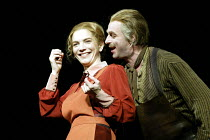 'GHOSTS' (Ibsen - director: Ingmar Bergman)~Angela Kovcs (Regine Engstrand), �rjan Ramberg (Jacob Engstrand)~Royal Dramatic Theatre of Sweden / BITE:03   Barbican Theatre, London       01/05/2003