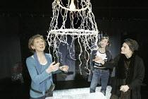 '3 WOMEN' (Catherine Anne - director: Marianne Badrichani) l-r: Marcia Warren (Jo'lle), Camilla Rutherford (Jo'lle), Ann Firbank (Mme Chevalier) Coup de Theatre / Riverside Studios, London W6...