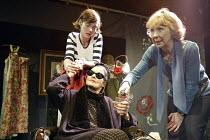 '3 WOMEN' (Catherine Anne - director: Marianne Badrichani) l-r: (rear) Camilla Rutherford (Jo'lle), Ann Firbank (Mme Chevalier), Marcia Warren (Jo'lle) Coup de Theatre / Riverside Studios, London W6...