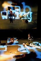 4.48 PSYCHOSIS by Sarah Kane director: James Macdonald ~Royal Court/Jerwood Theatre Downstairs  London SW1  11/05/2001