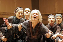 'HECUBA' (Euripedes, in a new version by Tony Harrison - director: Laurence Boswell),Vanessa Redgrave (Hecuba) with the Chorus,Royal Shakespeare Company RSC / Albery Theatre, London WC2           07/0...