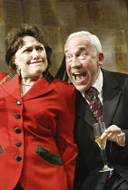 'THE HOLY TERROR' (Simon Gray - director: Laurence Boswell)~Beverley Klein (Gladys Powers), Simon Callow (Mark)~Duke of York's Theatre, London WC2   14/04/2004