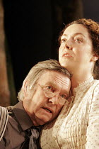 'THE HOME PLACE' (Brian Friel - director: Adrian Noble),Tom Courtenay (Christopher Gore), Derbhle Crotty (Margaret O'Donnell),Gate Theatre/Dublin production   Comedy Theatre / London SW1...