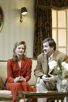 'HONEYMOON SUITE' (Richard Bean - director: Paul Miller)~Caroline O'Neill (Izzy), Jeremy Swift (Tits)~Jerwood Theatre Downstairs / Royal Court Theatre, London SW1                                    12...