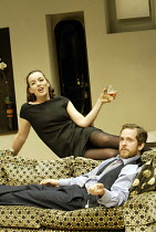 'THE HOTEL IN AMSTERDAM' (John Osborne - director: Robin Lefevre)~Olivia Williams (Annie), Tom Hollander (Laurie)~Donmar Warehouse, London WC2          17/09/2003