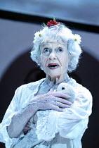 'THE HOUSE OF BERNARDA ALBA' (Lorca)~Sheila Burrell (Maria Josefa)~Orange Tree Theatre, Richmond             21/03/2003