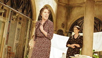 'THE HOUSE OF BERNARDA ALBA' (Lorca, new English version by David Hare - director: Howard Davies),centre: Penelope Wilton (Bernarda Alba),Lyttelton Theatre / National Theatre, London SE1        15/03/...