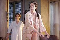 'THE HOUSE OF BERNARDA ALBA' (Lorca, new English version by David Hare - director: Howard Davies),l-r: Deborah Findlay (Poncia), Penelope Wilton (Bernarda Wilton),Lyttelton Theatre / National Theatre,...