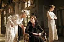 'THE HOUSE OF BERNARDA ALBA' (Lorca, new English version by David Hare - director: Howard Davies),l-r: Cherry Morris (Maria Josefa), Penelope Wilton (Bernarda Alba), Justine Mitchell (Magdalena),Lytte...