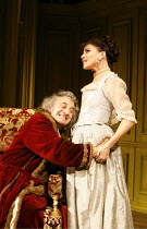 THE HYPOCHONDRIAC   by Moliere   in a new version by Richard Bean   director: Lindsay Posner,Henry Goodman (Argan), Ronni Ancona (B�line),Almeida Theatre, London N1                  17/11/2005,