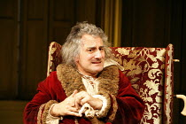 THE HYPOCHONDRIAC   by Moliere   in a new version by Richard Bean   director: Lindsay Posner,Henry Goodman (Argan),Almeida Theatre, London N1                  17/11/2005,