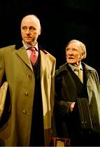 NAKED JUSTICE  by John Mortimer  director: Christopher Morahan <br> l-r: Nicholas Jones (Keith), Leslie Phillips (Fred) West Yorkshire Playhouse, Leeds, England  02/02/2001
