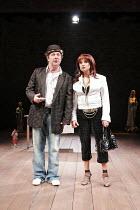 'A NEW WAY TO PLEASE YOU' (Middleton & Rowley - director: Sean Holmes),Fred Ridgeway (Gnotho), Ishia Bennison (Agatha),Royal Shakespeare Company / Swan Theatre, Stratford-upon-Avon, England...